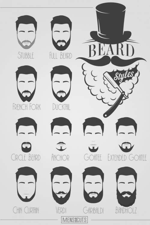 Surprising A Complete Guide To The Best Beard Styles Menshaircuts Com Natural Hairstyles Runnerswayorg