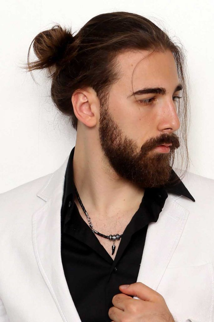 Wondering How To Make Your Man Bun Rock Read This Menshaircuts