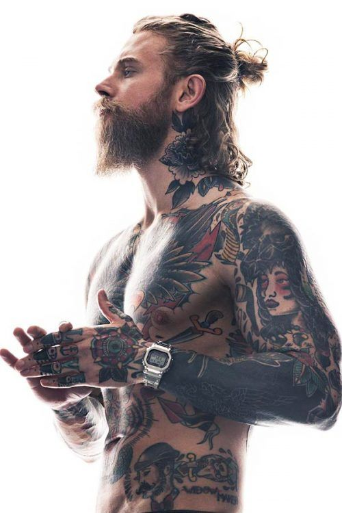 Get To Know The Man Bun Hairstyle Inside And Out #manbun #menbun #topknot