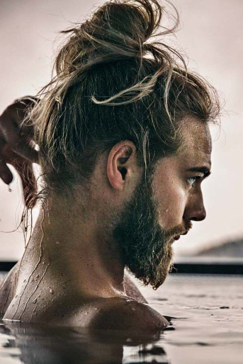 How To Get It? #manbun #menbun