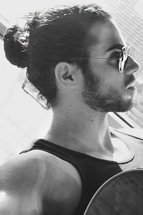 What Is A Man Bun? #manbun #menbun