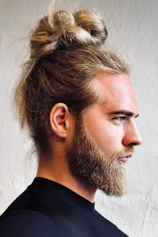 What Is A Man Bun? #manbun #mensbunhairstyle #messybun