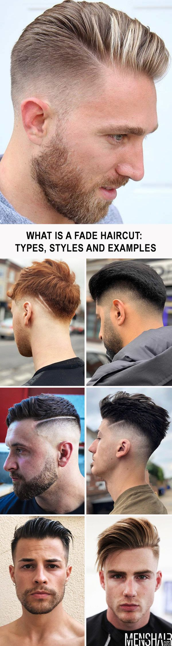 What Is A Fade Haircut Types Styles And Examples