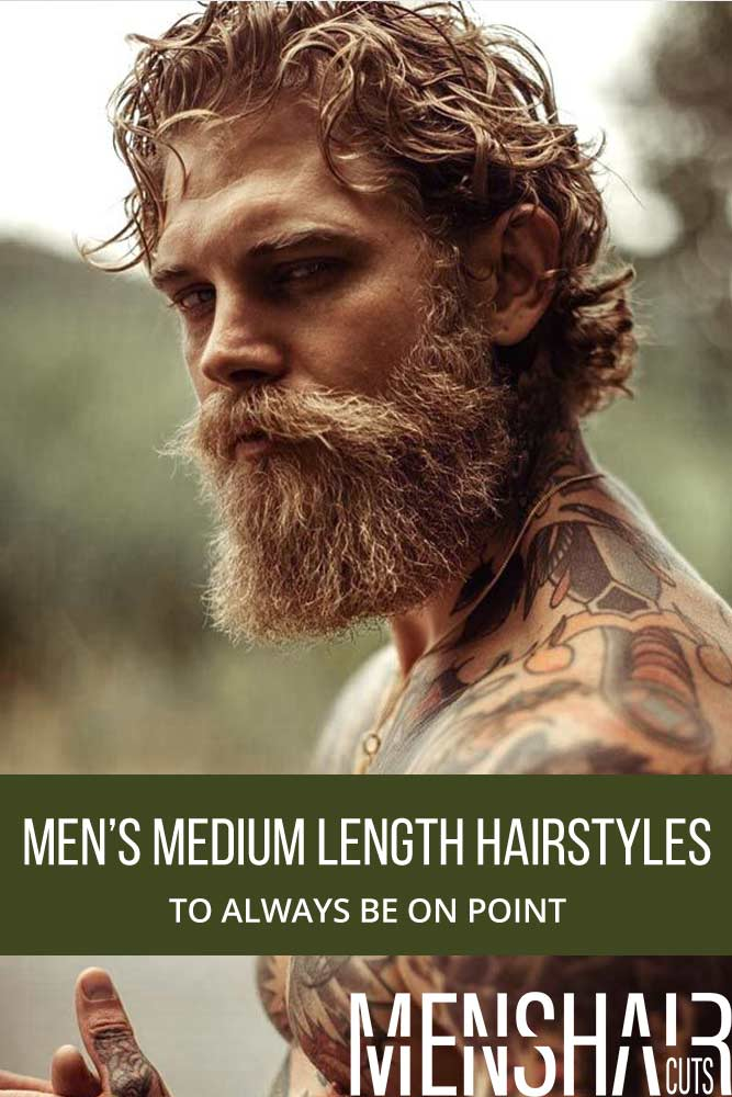 Mens Medium Length Hairstyles To Always Be On Point