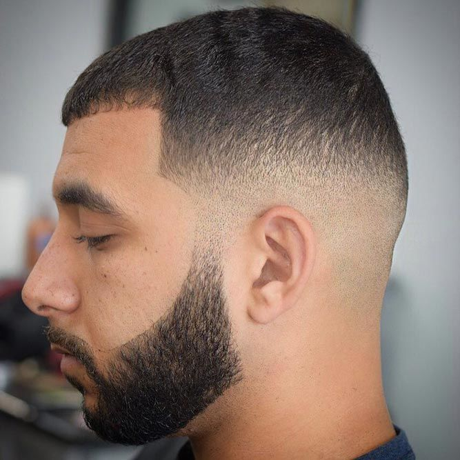 Short Buzz Cut With Bald Fade #buzzcut #haircuts #menhaircuts