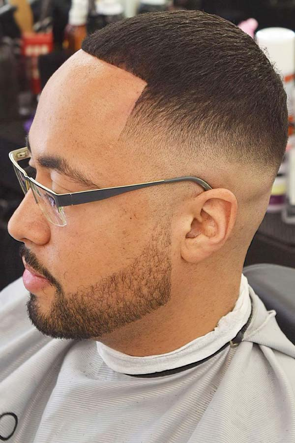 Buzz Cut Skin Fade Line Up #buzzcut