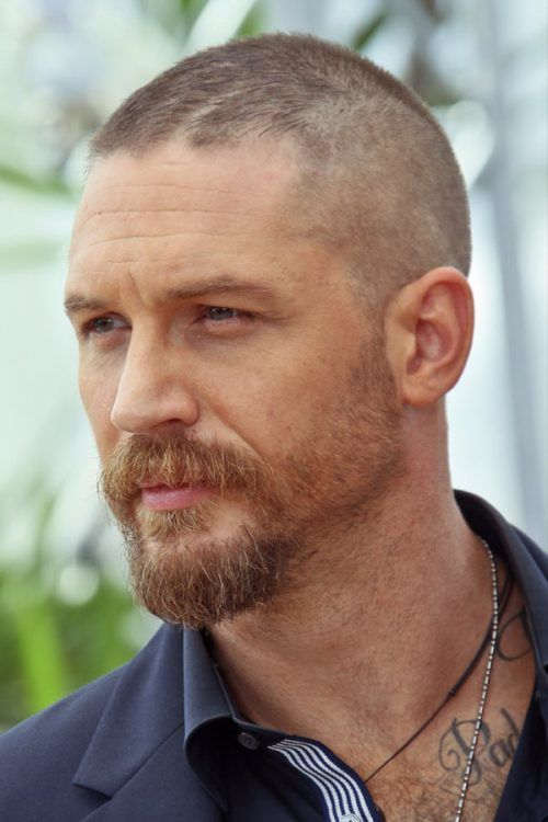 Tom Hardy #buzzcut #haircuts #menhaircuts