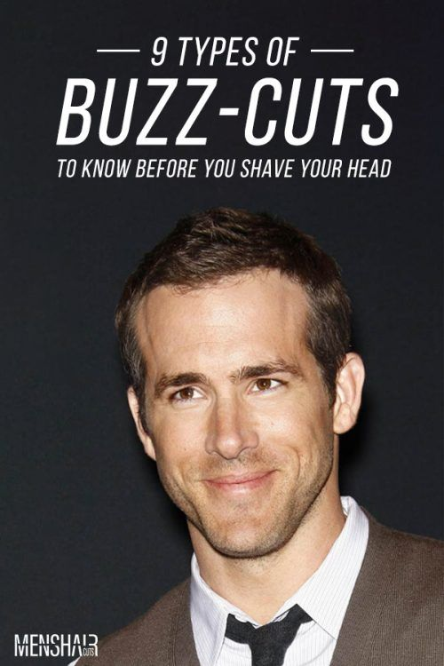 The Coolest Celebrity Buzz Cut Types #buzzcut #haircuts #menhaircuts