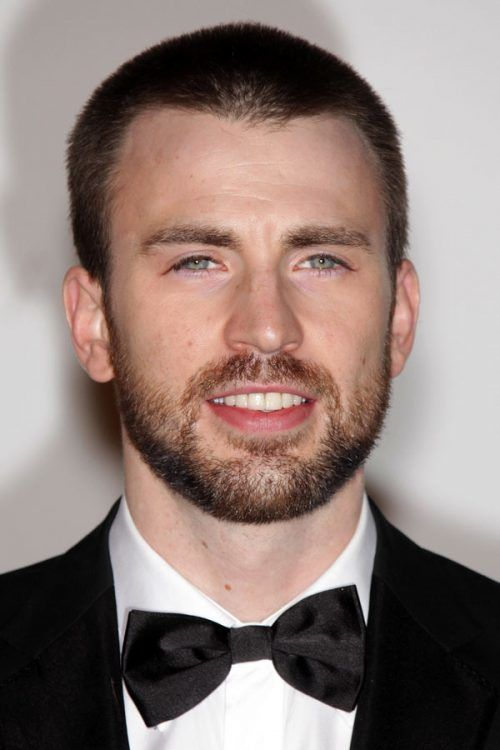 Chris Evans #crewcut