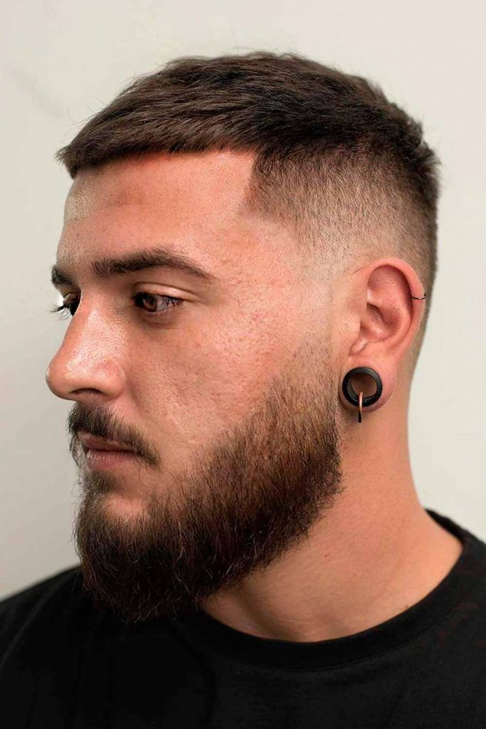 Faded Line Up #crewcut #crewcutmen #crewcutfade #crewcutmilitary #crewcuthair
