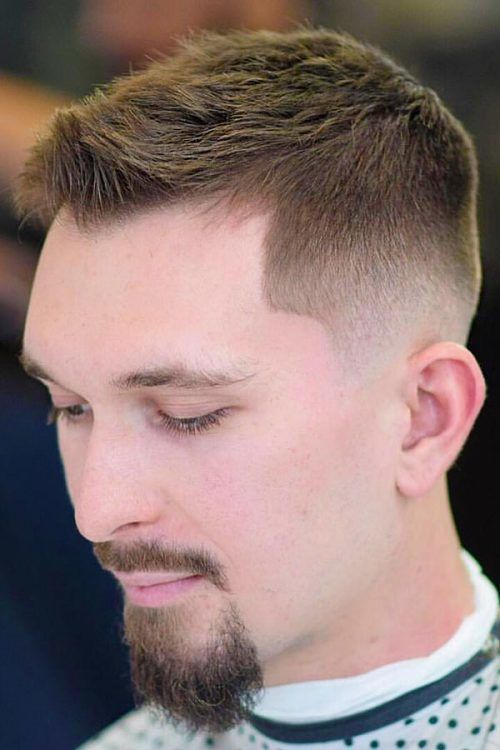 Raise Your Masculinity To The Highest Level With The Crew Cut #crewcut #crewhaircut #shorthaircutsformen