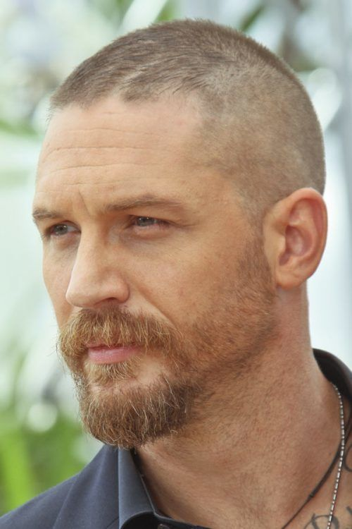 Tom Hardy #crewcut