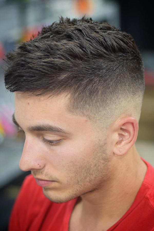 High And Tight Skin Fade Texture #fadehaircut