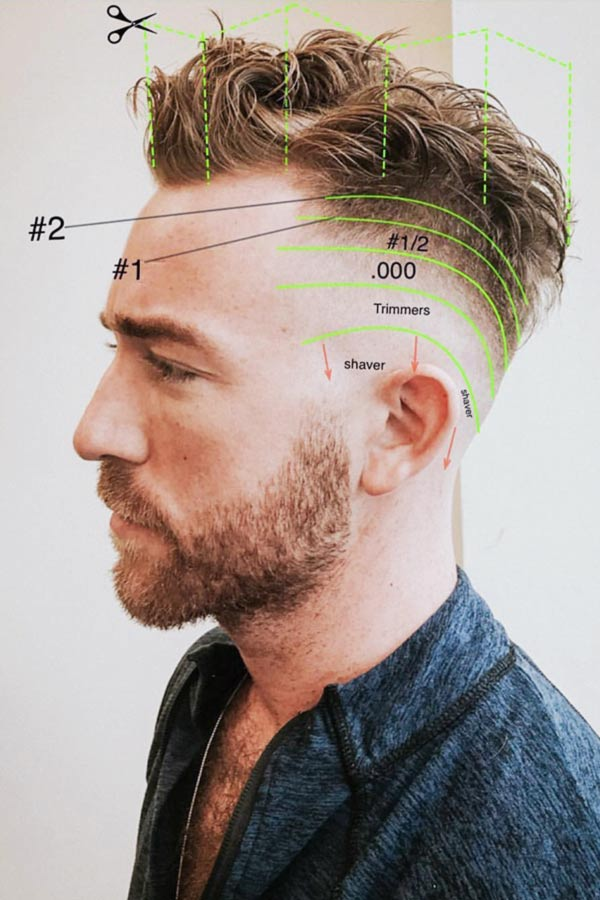 Fantastic Fade Haircut Ideas To Give A Try To #fade #fadehaircut