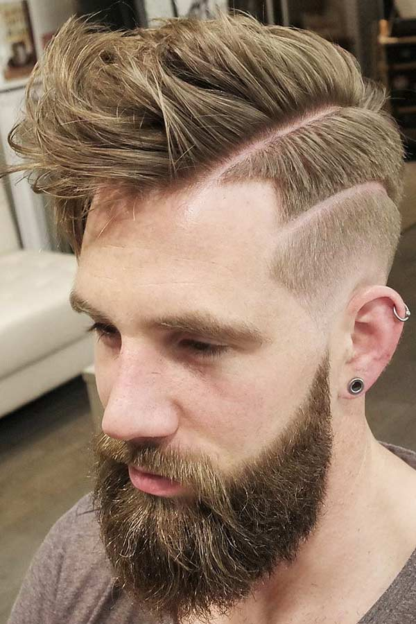 Edgy Two-Level Fade #fadehaircut