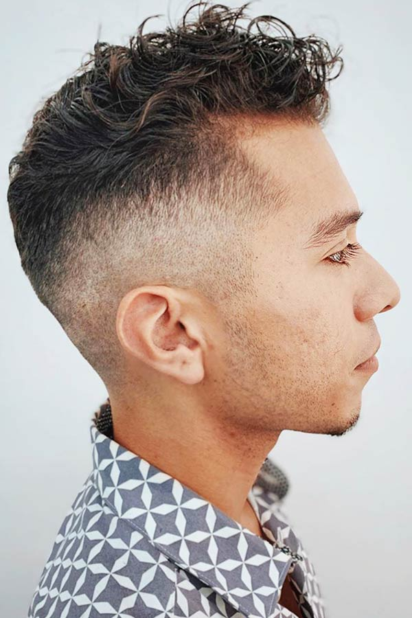 Curly Hair Fade #fadehaircut #fade