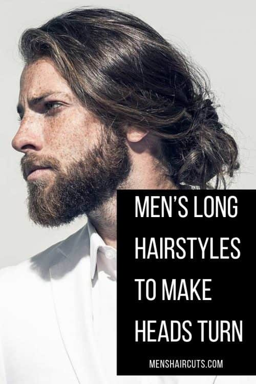 Low Messy Man Bun #manbun #menslonghairstyles #messybun