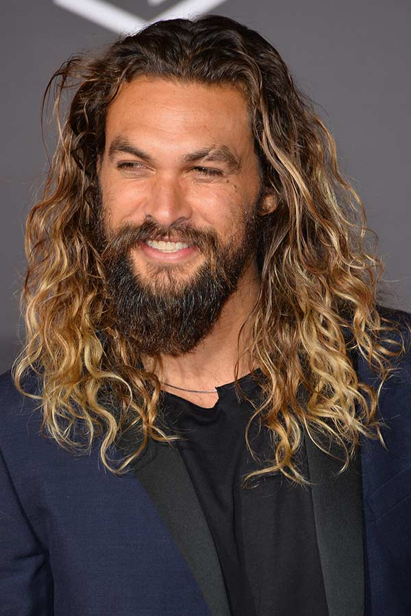 Long Curly Hair #longhairstylesformen #menslonghairstyles