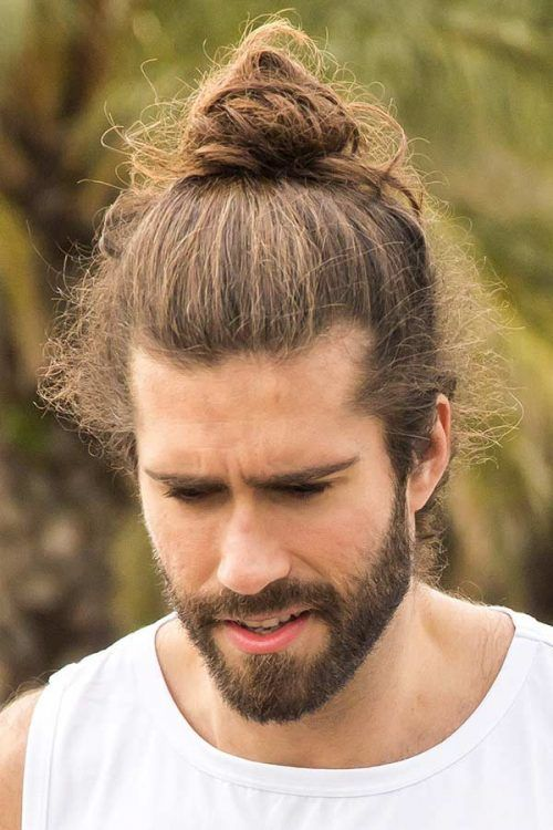 How To Style Long Hair #longhairstylesformen #longhairmen #menslonghairstyles