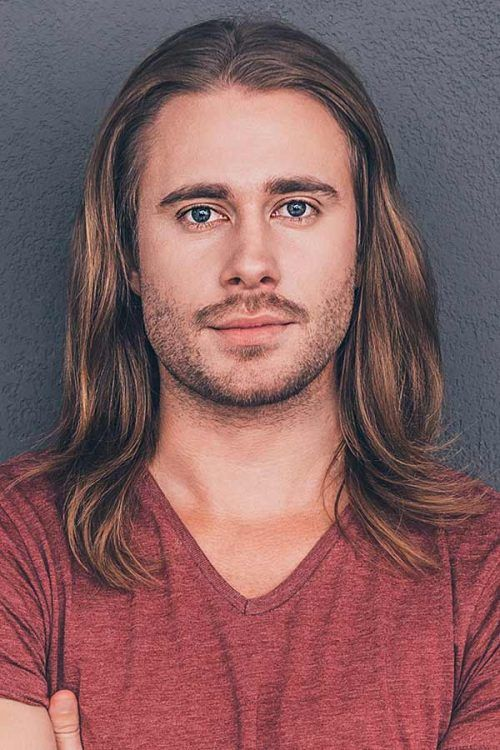 Layered Long Hair Men #longhairstylesformen #longhairmen #menslonghairstyles