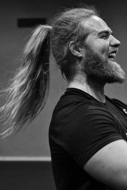 High And Flow Ponytail #ponytail #menponytail #menslonghairstyles