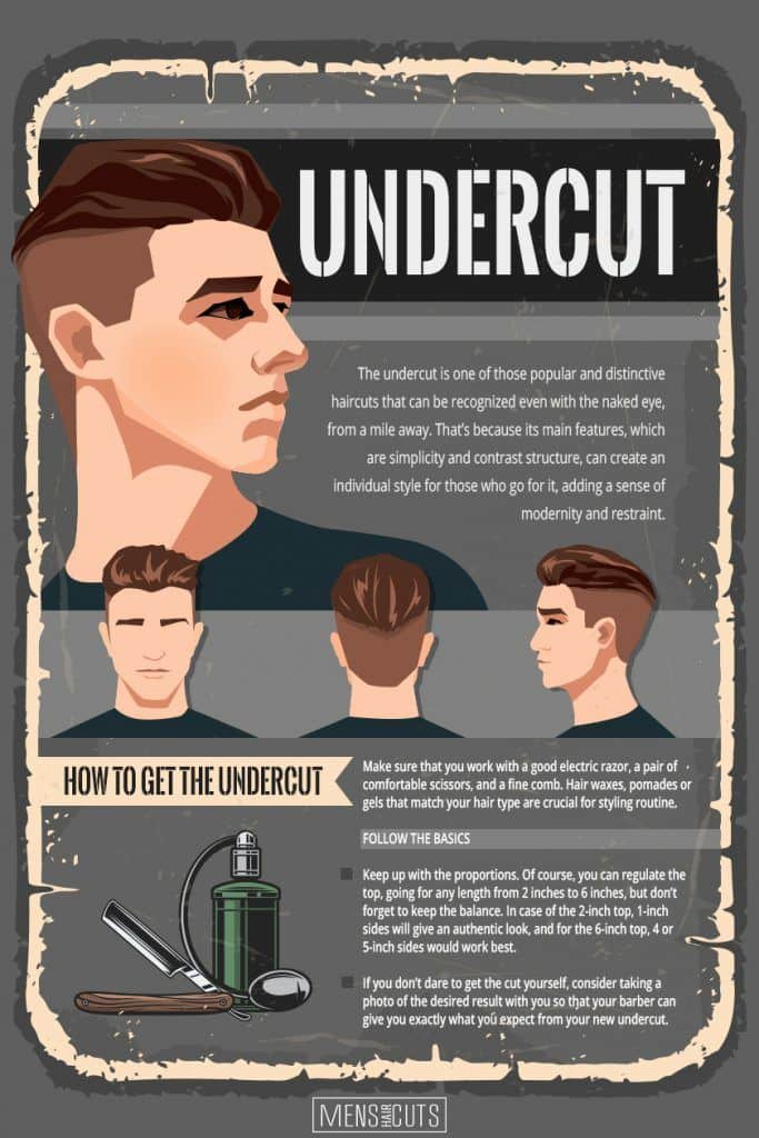 Undercut Is The Final Detail To Your Sophisticated Look