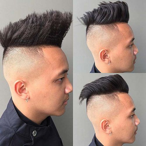 Brushed Up Crimped Top #asianhaircut #brusheduphair #undercut #mensundercut