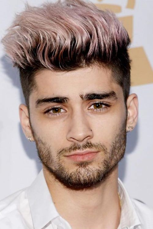 What Face Shape Work Well? #undercut #undercutfade #zayn #zaynmalik #pinkhair