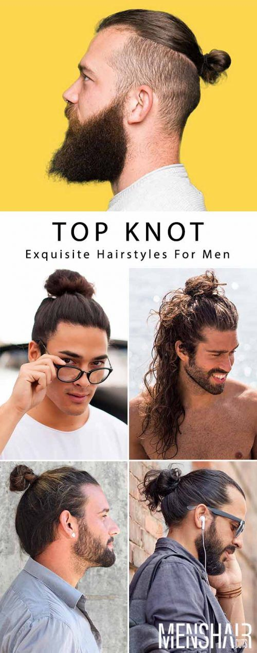 Will A Man Bun Or Top Knot Suit Your Face Shape?