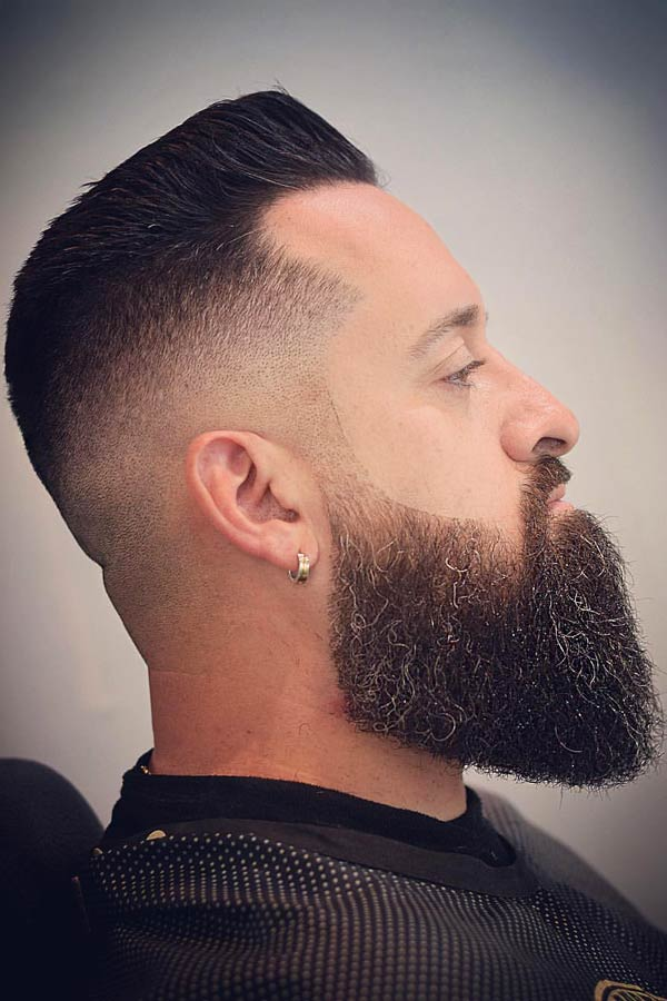 Bald Fade With Beard #beard #baldfade #skinfade #fadehaircut