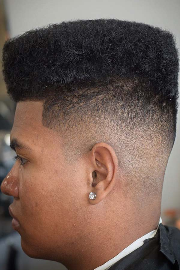 High Top Bald Fade #flattop #baldfade #skinfade #fadehaircut