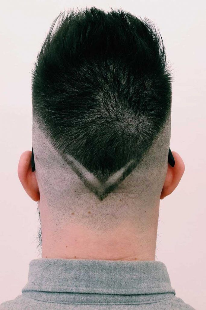 Bald Fade With Design #baldfade #skinfade #zerofade