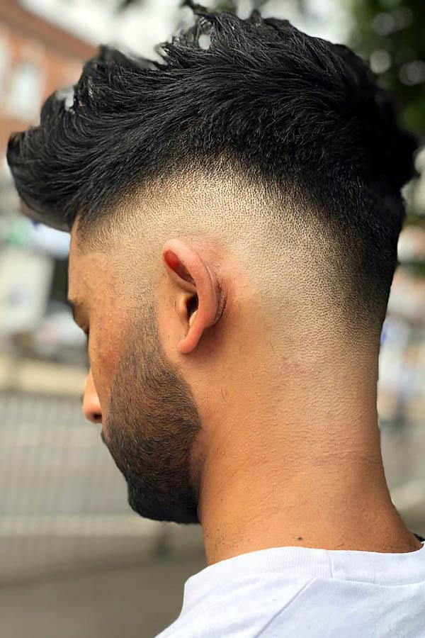 What Is A Bald Fade? #baldfade #skinfade #fadehaircut