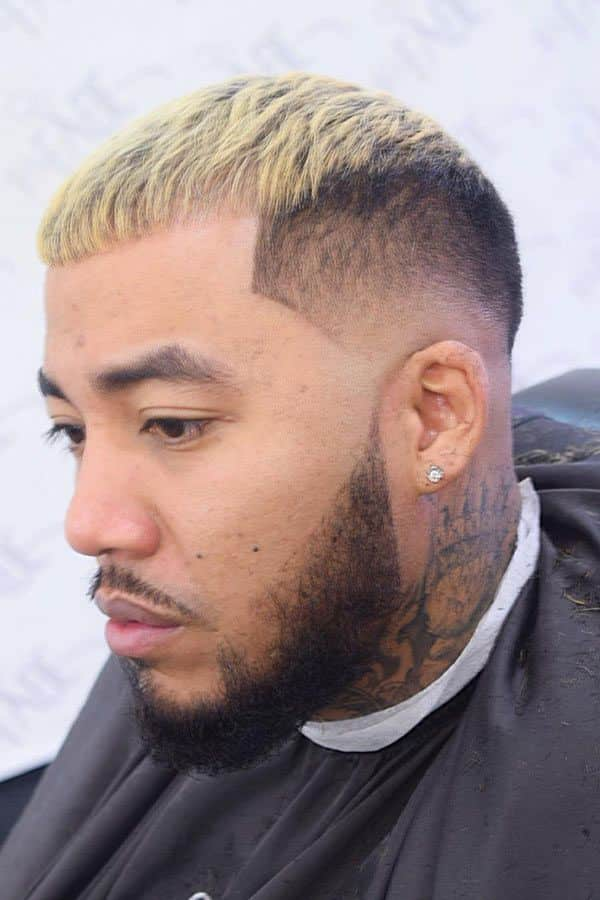 Caesar Haircut On Natural Hair #caesarhaircut #mensshorthaircuts #fadehaircuts #beardstyle #texturedhair