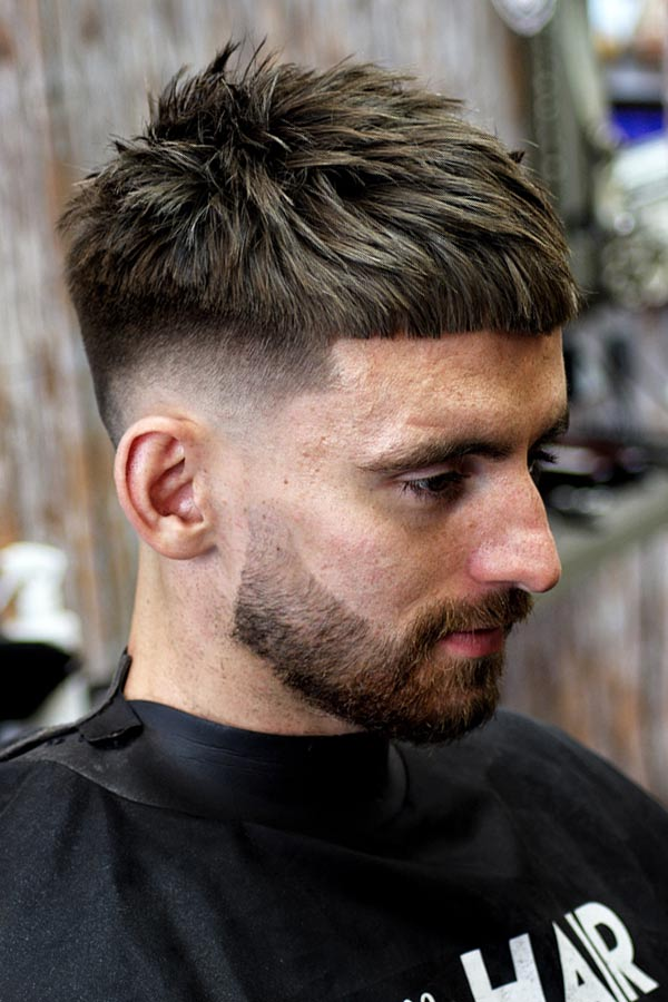 How To Get The Caesar Haircut #caesarhaircut #haircuts #menhaircuts