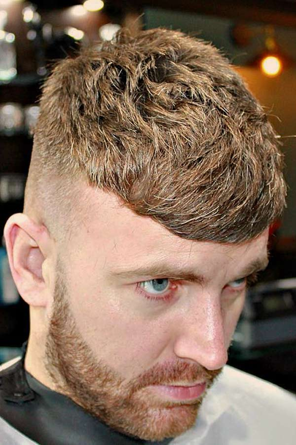 Side Swept Bangs #caesarhaircut #haircuts #menhaircuts