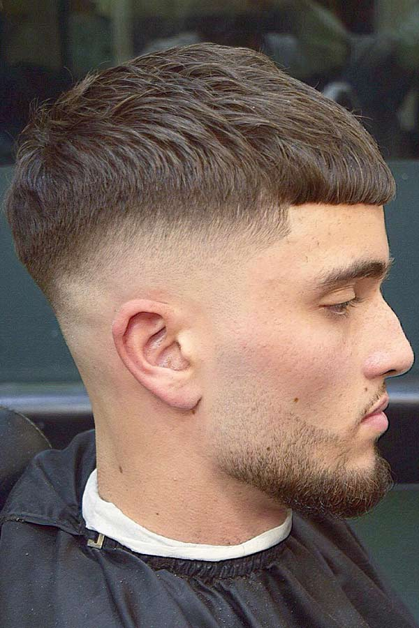 Straight Hairstyle #caesarhaircut #haircuts #menhaircuts