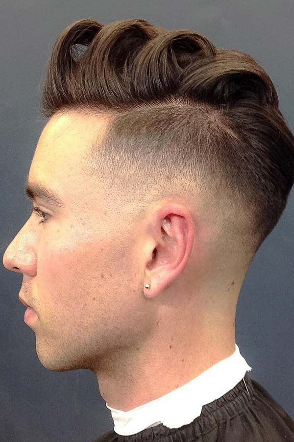 Textured Comb Over #combover #comboverfade