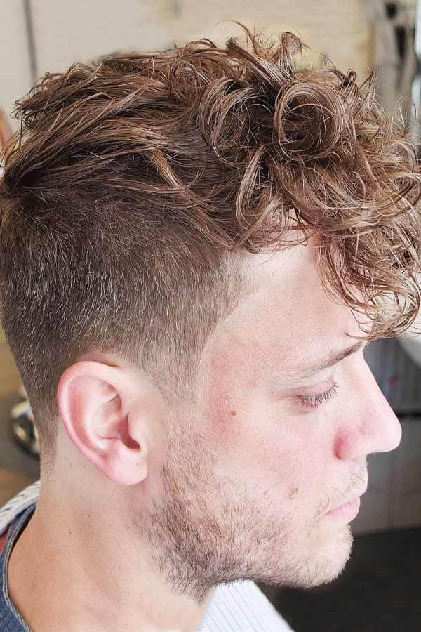 Curly Faux Hawk #curlyhair #fauxhawk #undercut