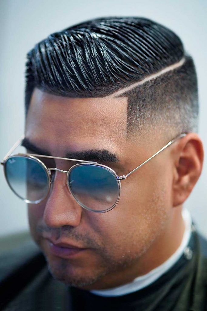 High And Tight With Hard Part #shorthaircutsformen #shorthairmen #mensshorthaircuts #highandtight