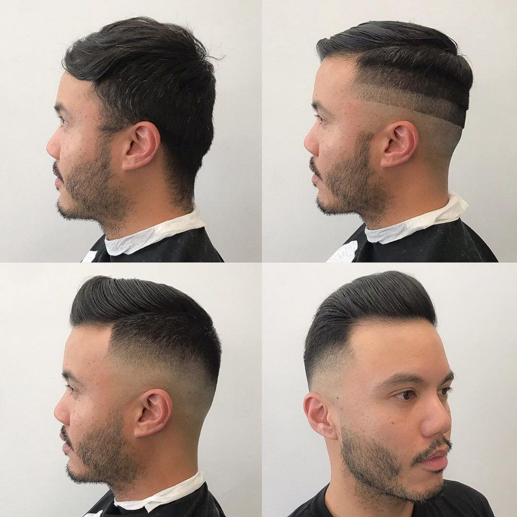 High and Tight Pompadour #shorthaircutsformen #shorthairmen #mensshorthaircuts #highandtight