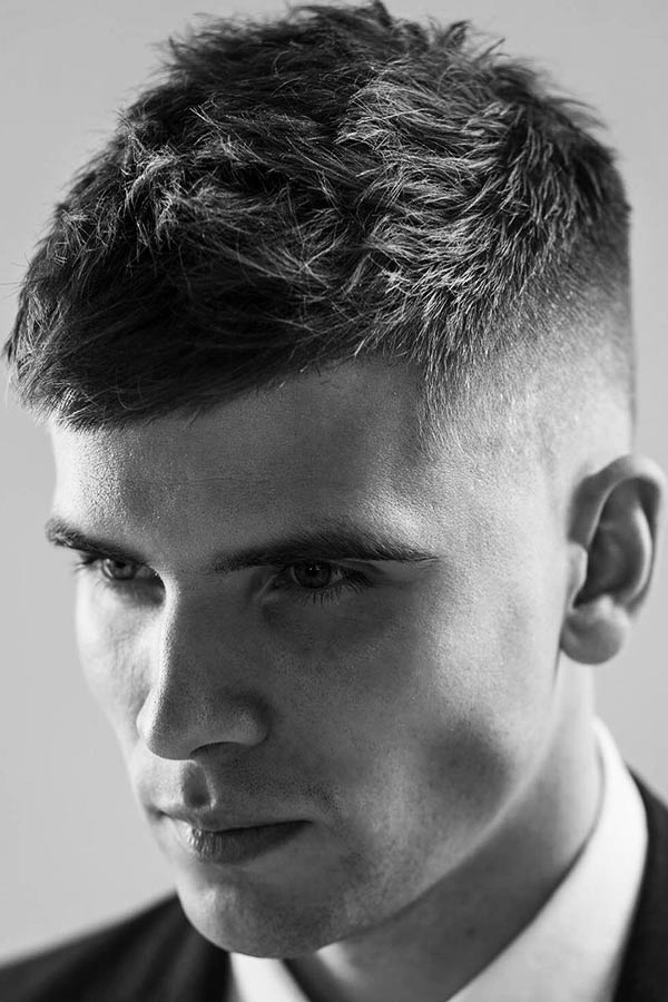 Spiky Top For High And Tight #shorthairmen