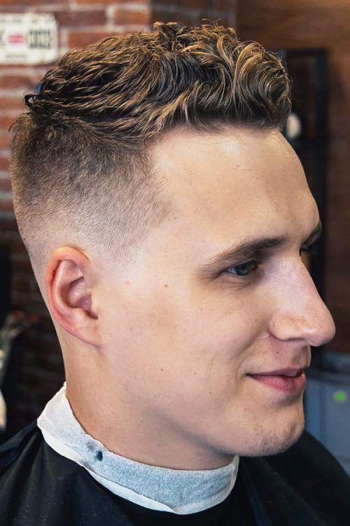 Wavy High And Tight Fade #shorthairmen #highandtight #highandtightfade
