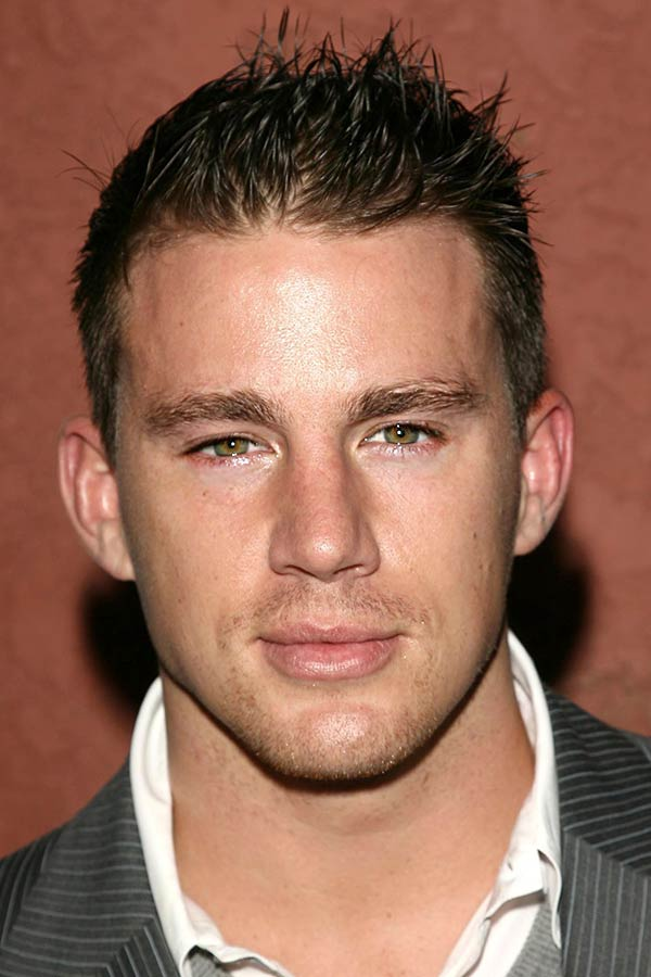 Brushed Up Channing Tatum's Hair #ivyleague #ivyleaguehaircut
