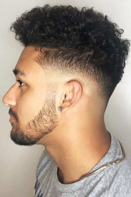 Low Fade With Curls #lowfadehaircut