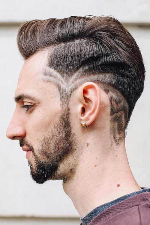 Taper Cut With A Hair Tattoo #hairtattoo #taper #taperhaircut