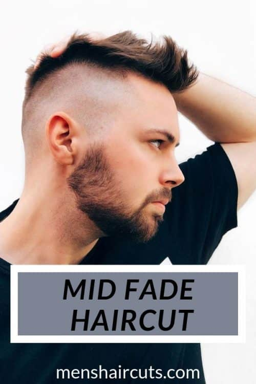 The Mid Fade Haircut #midfade #texturedhair #baldfade