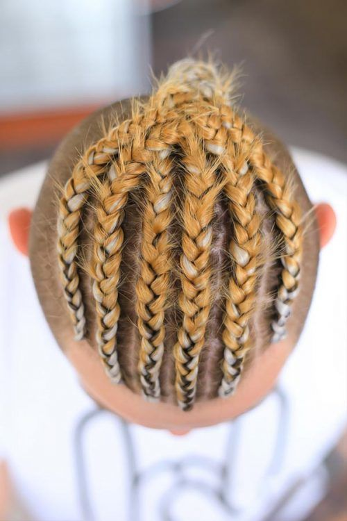 Thick Tight Braids #braids #menbraids