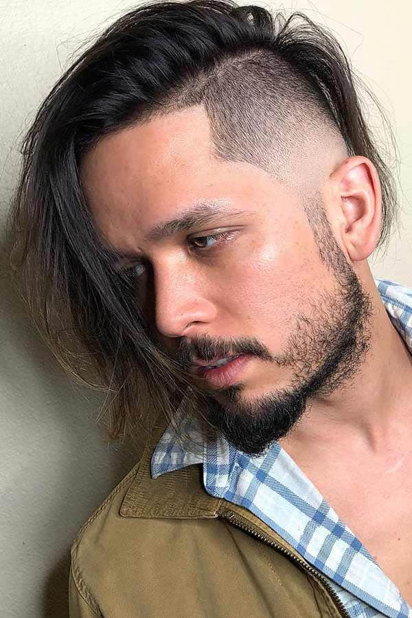 Mid Fade Haircut With A Beard #midfade #fadehaircut #undercut #undercutfade #disconnectedundercut