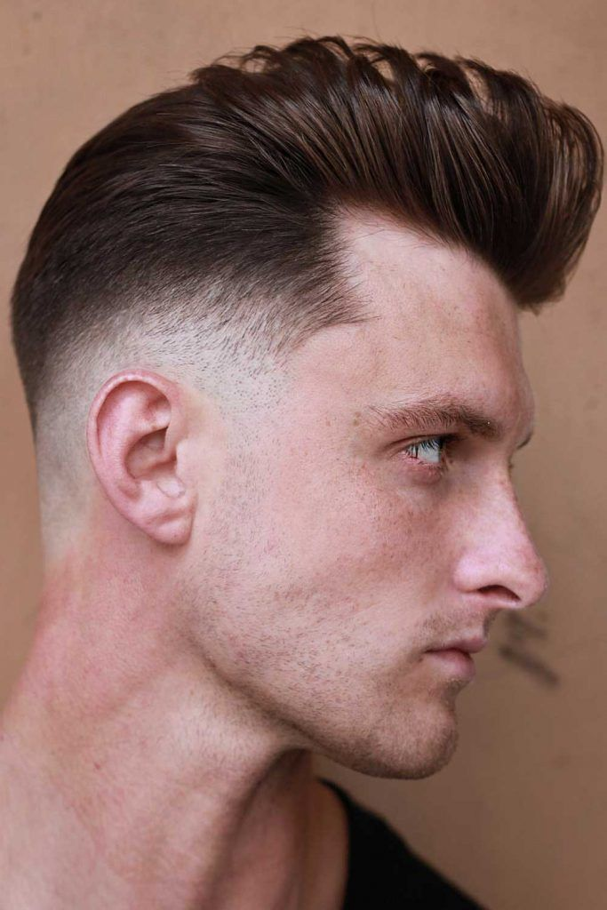 Effortless Pompadour #fade #midfade #mediumfade